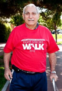 Donate to Stroke Awareness Foundation- Fight Stroke Walker