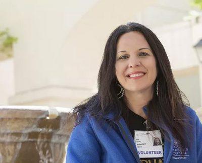 stroke advocate and survivor Elizabeth Diaz