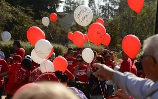 Fight Stroke Walk Balloons