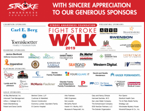 Thank you to our 2019 Fight Stroke Sponsors